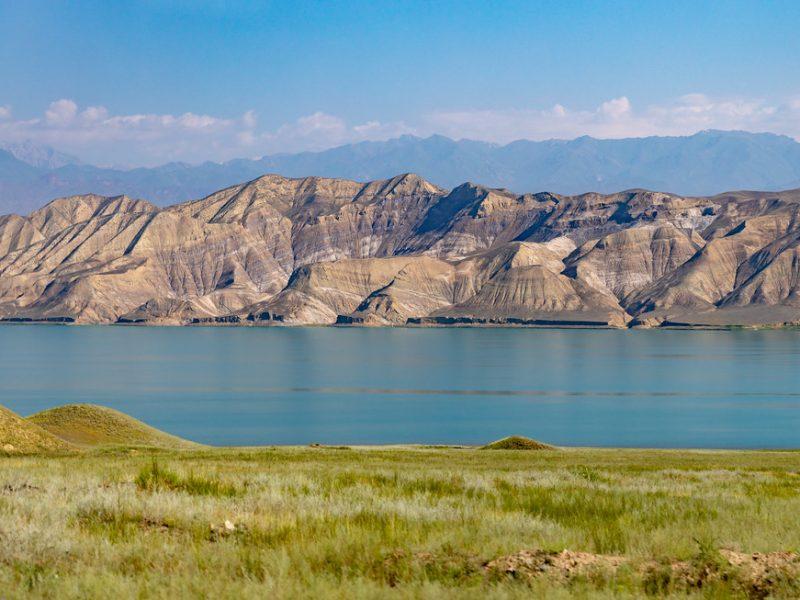 Kirghizstan Toktogoul Réservoir Energie Hydroélectricité