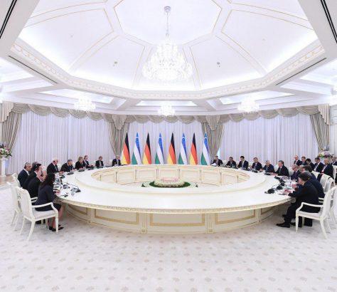 Ouzbékistan Allemagne Visite Relation bilatérale Politique Economie