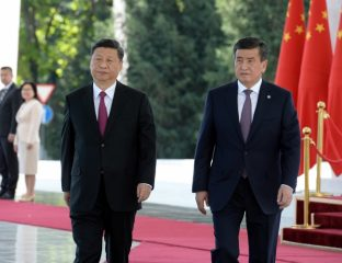 Kirghizstan Bichkek Sooronbaï Jeenbekov Xi Jinping Rencontre Xinjiang Camp Reéducation