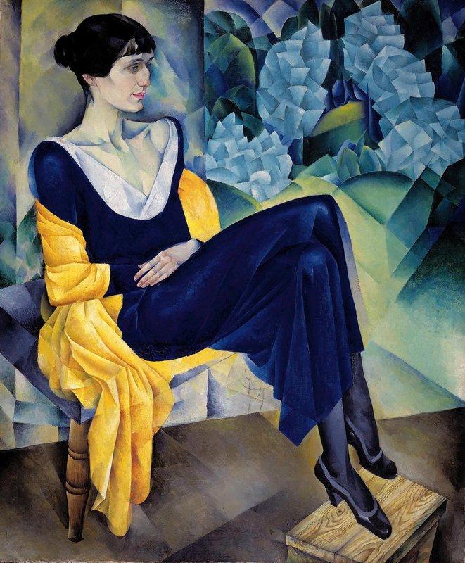 Portrait Anna Akhmatova Natan Altman