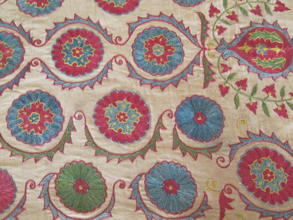 Balanciaga Ouzbékistan motifs tapis