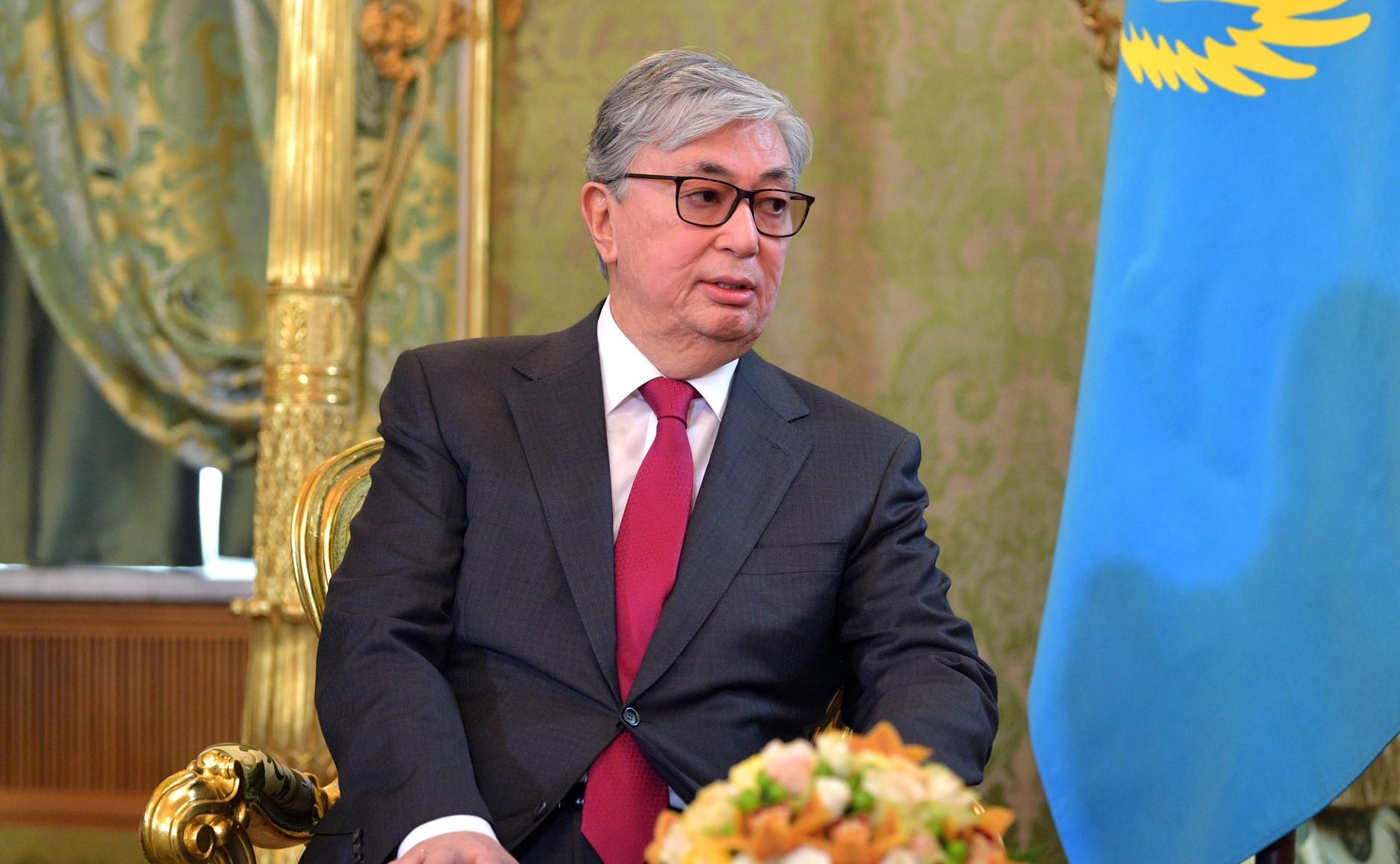 Tokaïev Président Kazakhstan Suffrages