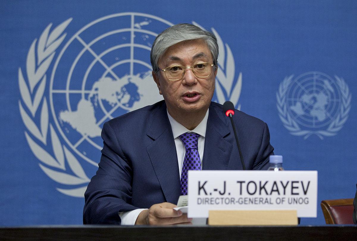 Kazakhstan Kassym Jomart Tokaiev ONU Président Kazakh