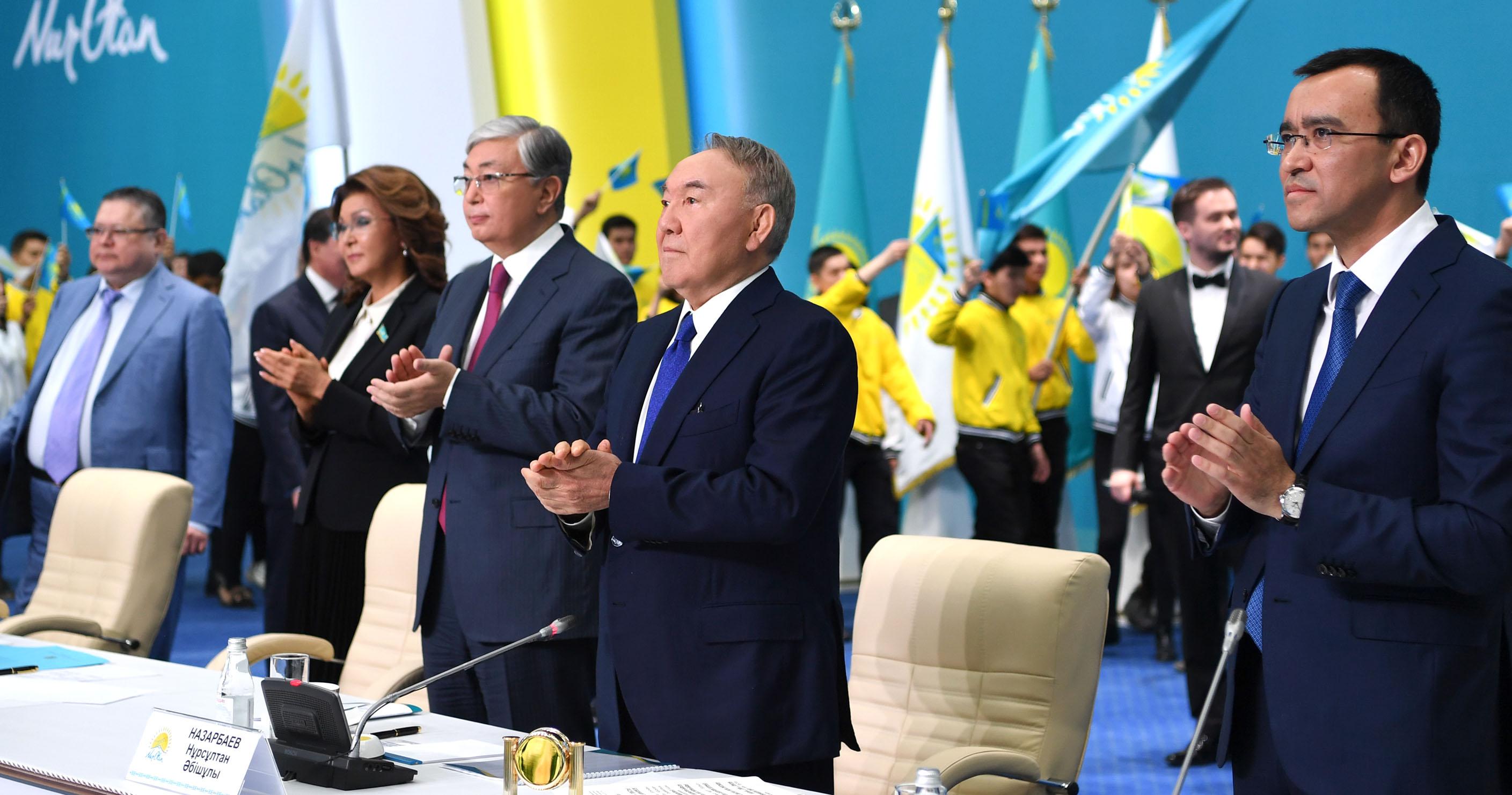 Kazakhstan Kassym Jomart Tokaiev Président Kazakh Noursoultan Nazarbaiev Nour Otan