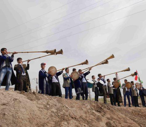 Musiciens dans le district de Rudaki