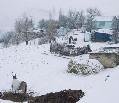 Maison Mailuu-Suu Kirghizstan Photo du Jour Tien Tran