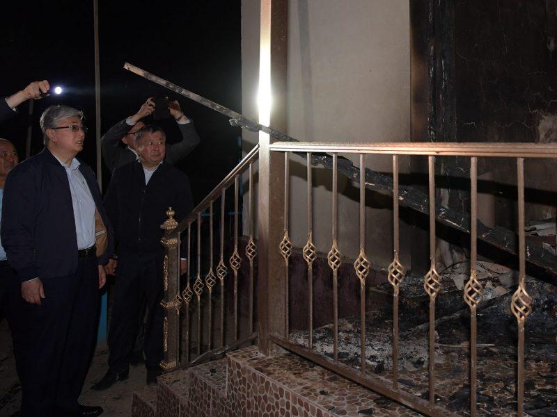 Kassym Jomart-Tokaïev Sinistre Arys Incendie Explosion Kazakhstan