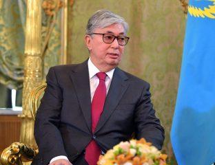 Kassym-Jomart Tokaïev Président République Kazakhstan