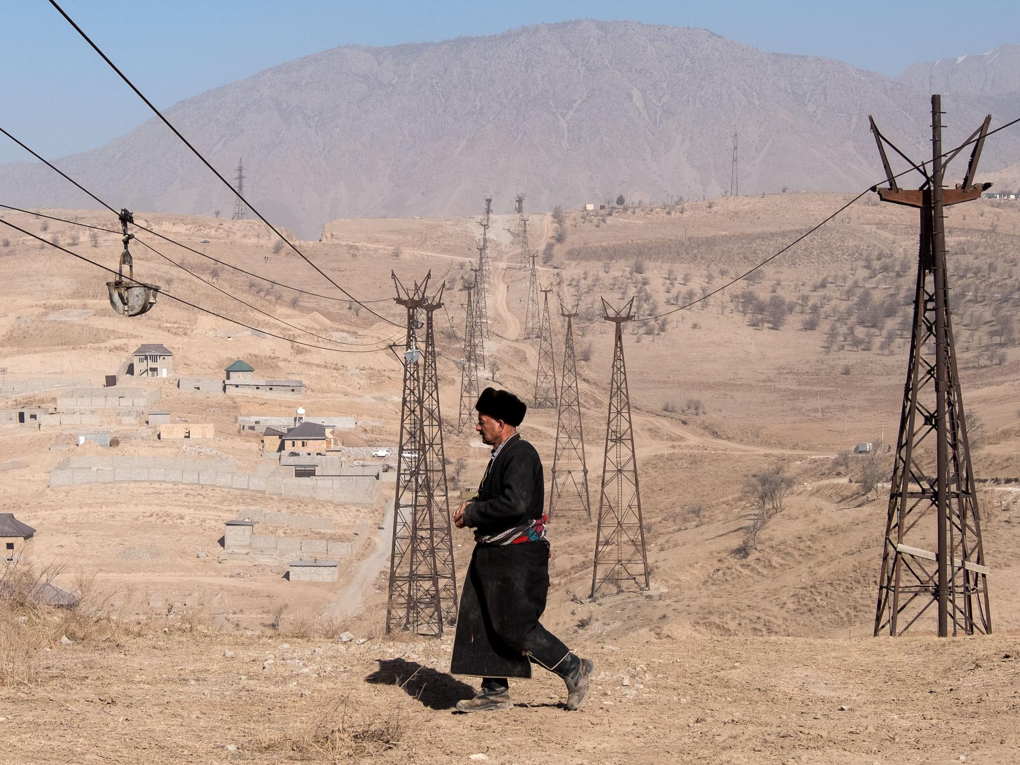 Mines Tadjikistan Bild des Tages