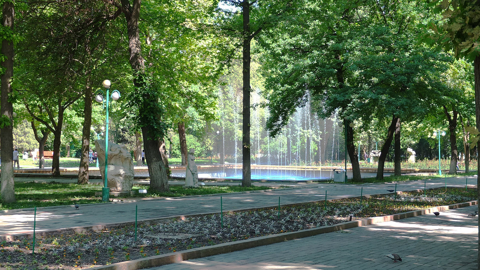 Parc Chênes Bichkek Kirghizstan