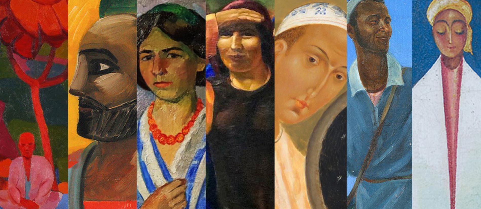 Ouzbékistan Karakalpakistan Noukous Musée Igor Savitsky Œuvres Art Tableaux