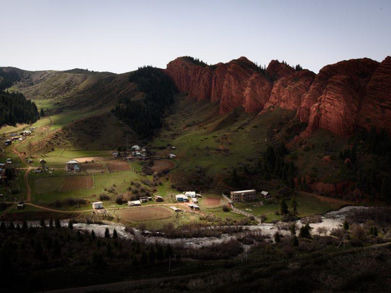 Le Grand Canyon kirghize