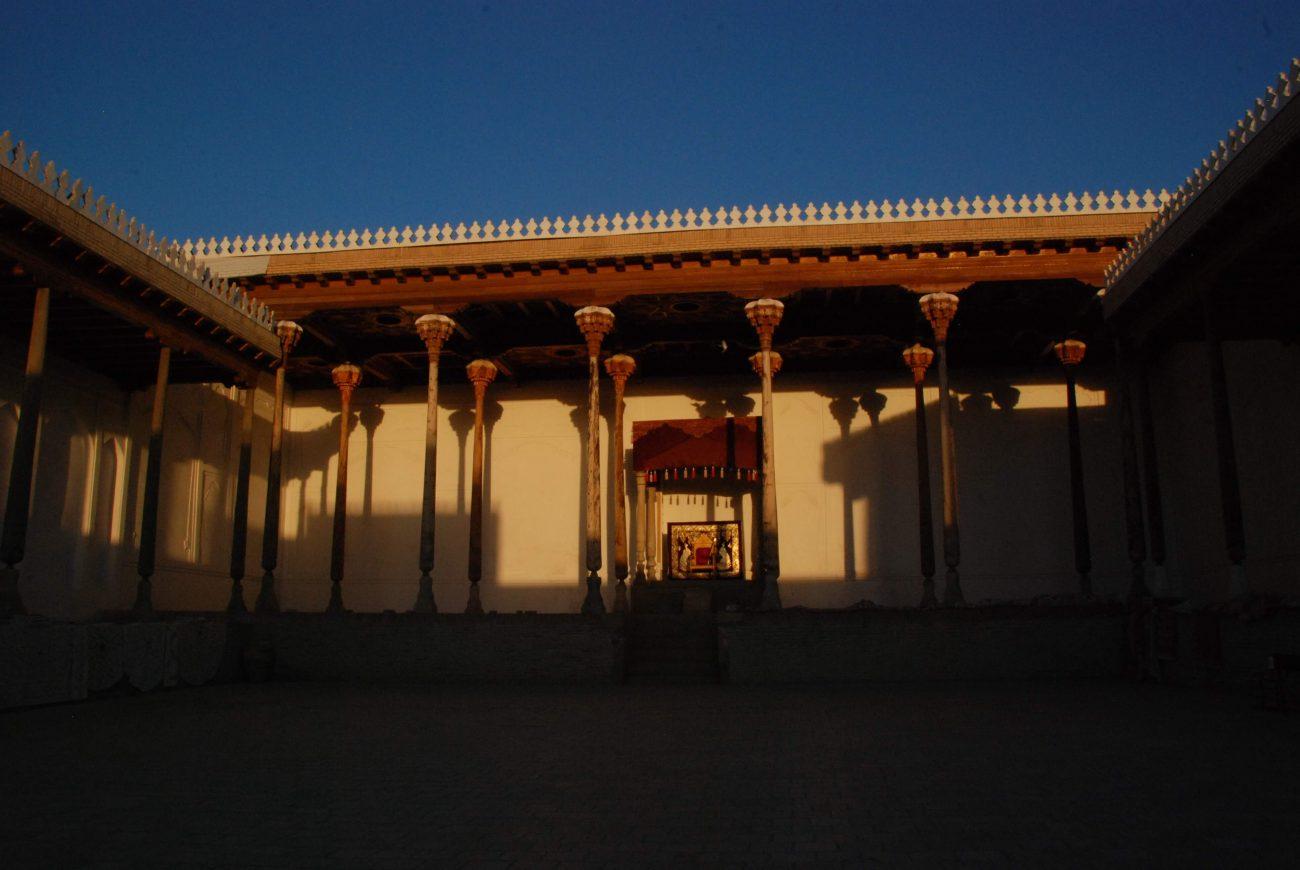 Forteresse Ark Boukhara Ouzbékistan Photo du Jour