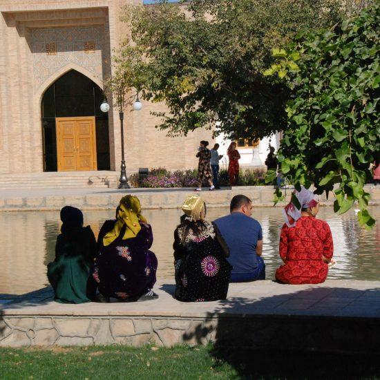 Repos Mausolée Naqshbandi Bukhara Ouzbékistan Photo du Jour