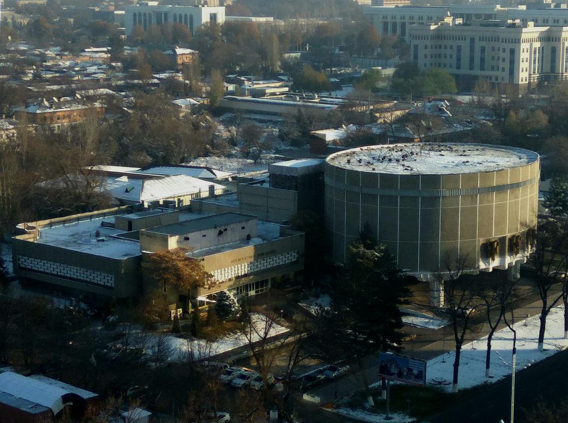 Dom Kino Architecture Patrimoine URSS Tachkent Ouzbékistan