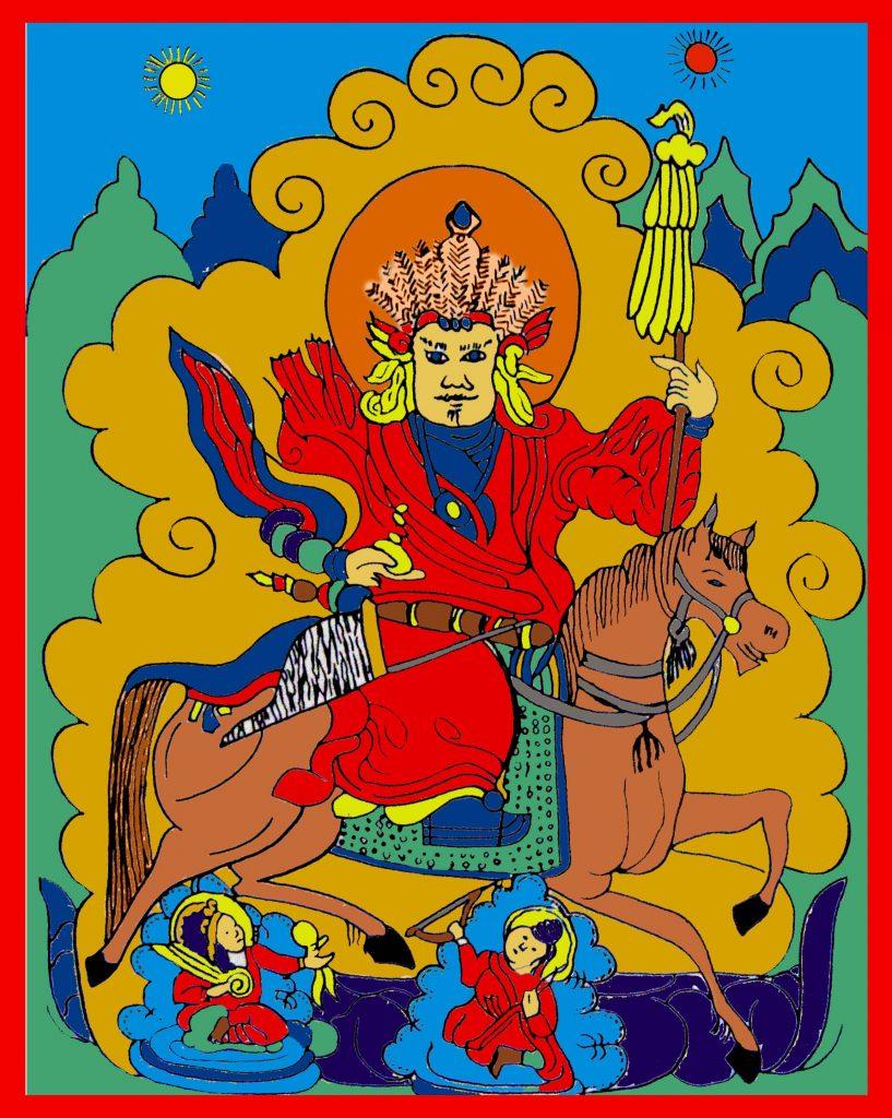 Dieu Divinité Tengri Religion Peuples Turcs