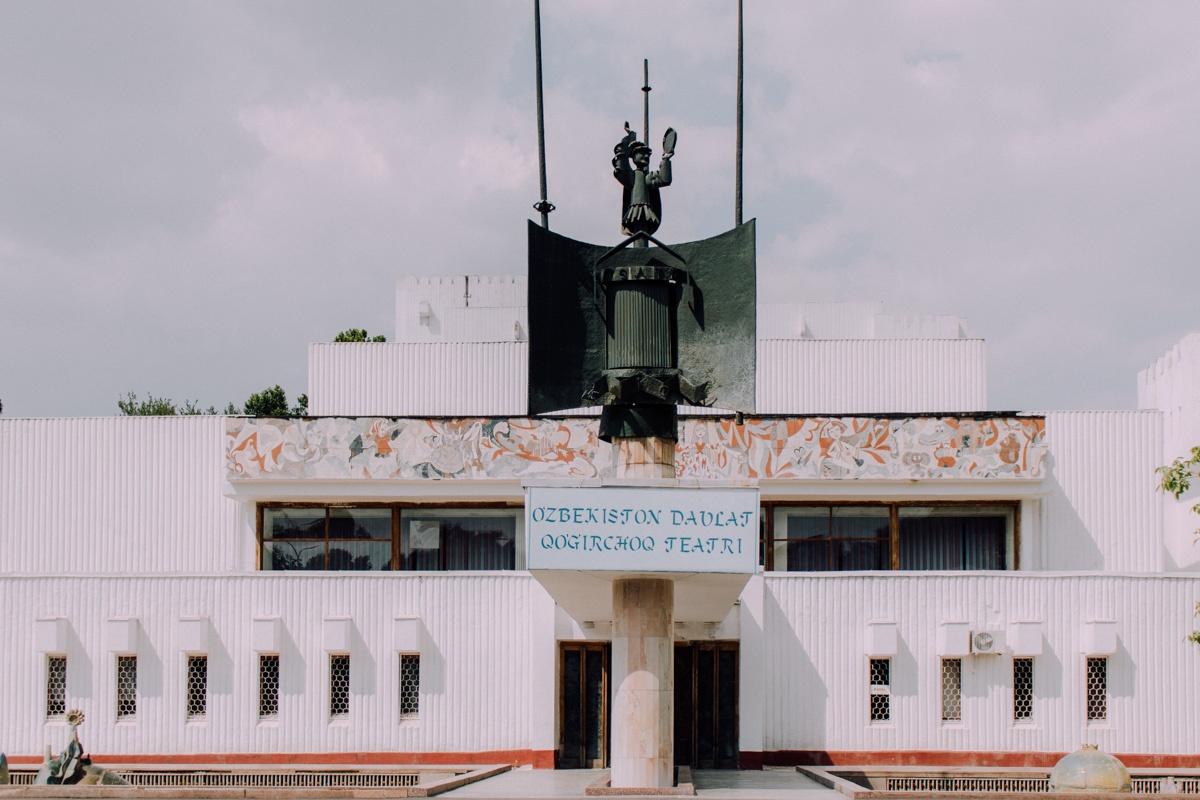 Architecture Patrimoine URSS Tachkent Ouzbékistan