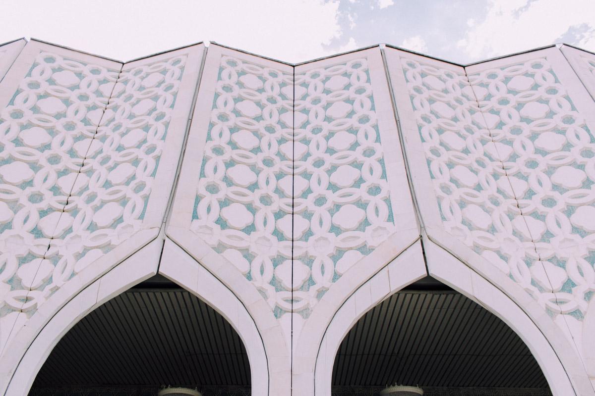 Hall d'exposition Architecture Patrimoine URSS Tachkent Ouzbékistan