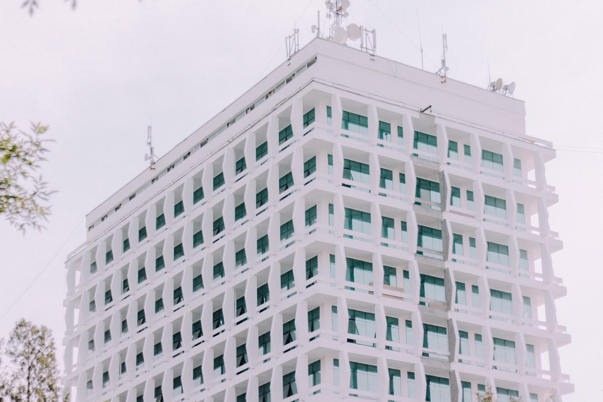 rectorat de l'université nationale d'Ouzbékistan Architecture Patrimoine URSS Tachkent Ouzbékistan