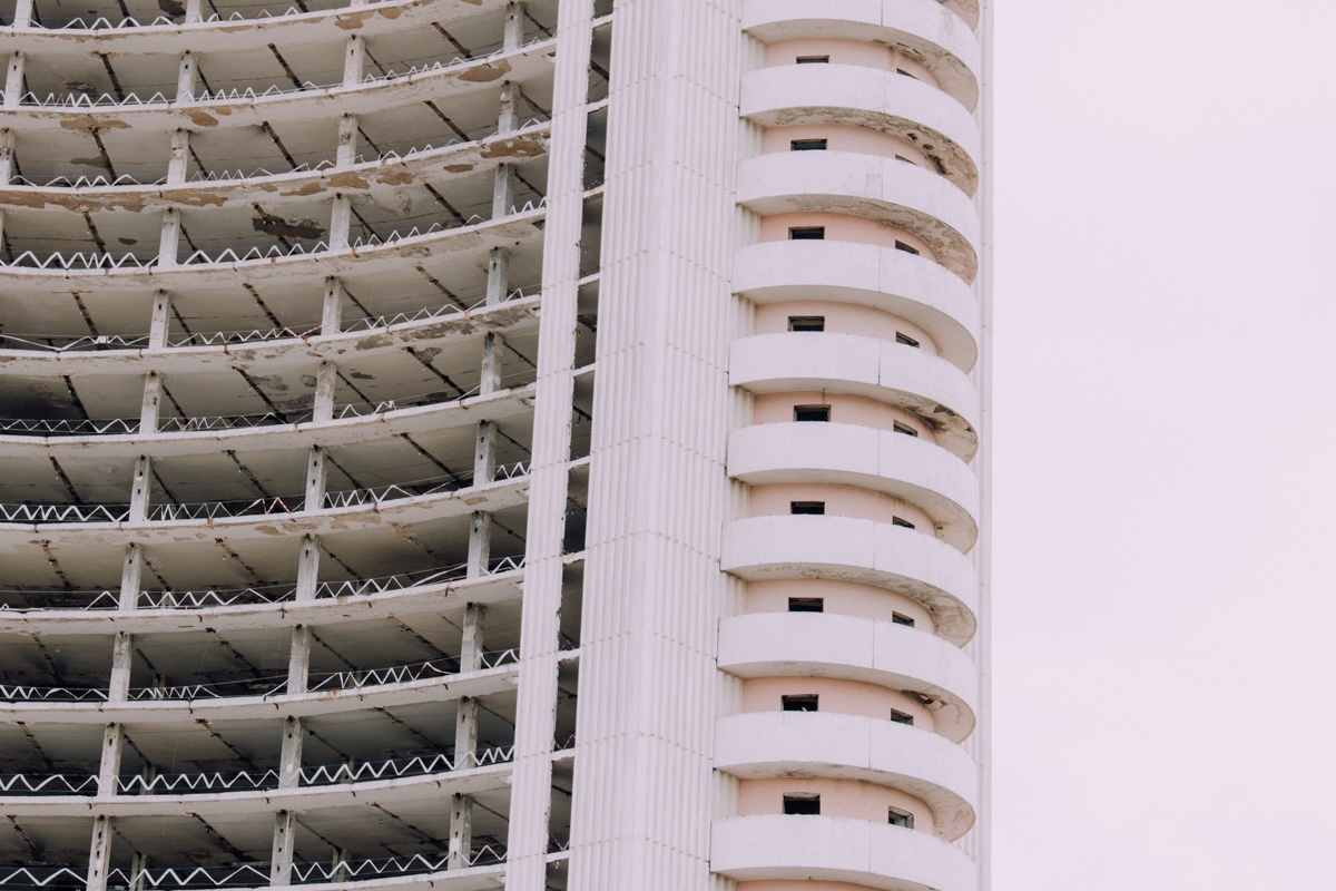 Hôtel «Tchorsou» Architecture Patrimoine URSS Tachkent Ouzbékistan