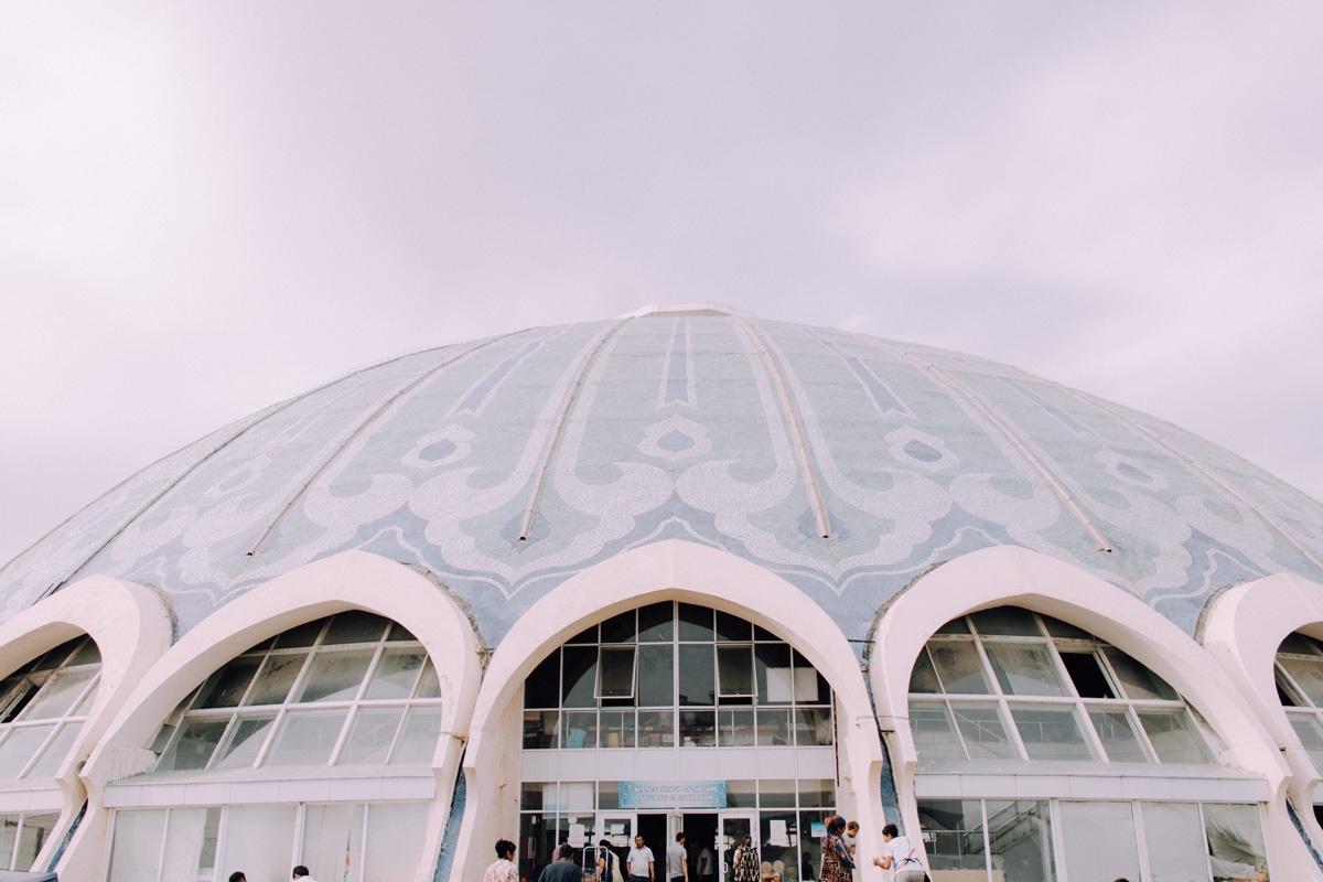 Marché Tchorsou Bazar Architecture Patrimoine URSS Tachkent Ouzbékistan