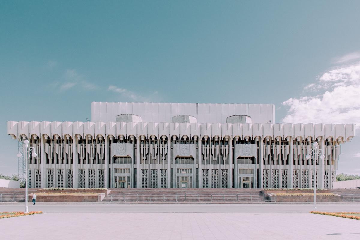 Palais de l'amitié des peuples Architecture Patrimoine URSS Tachkent Ouzbékistan