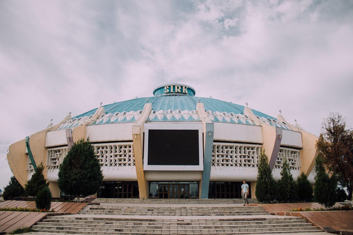 Cirque Architecture Patrimoine URSS Tachkent Ouzbékistan
