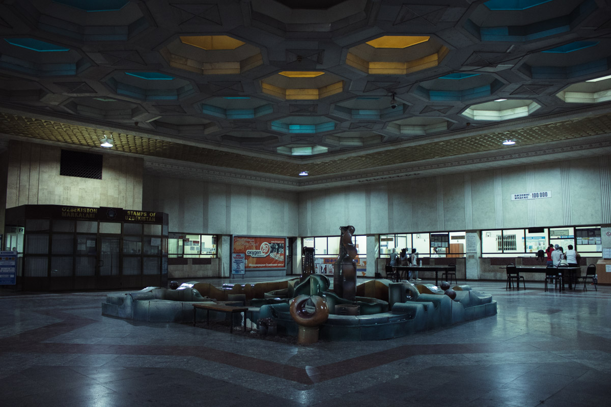 Hôtel des Postes Architecture Patrimoine URSS Tachkent Ouzbékistan