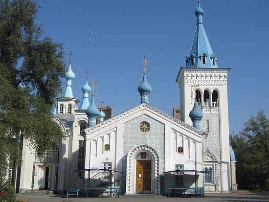 Cathédrale Bichkek Kirghizstan