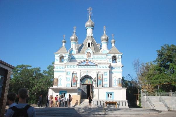 Cathédrale Nevski Tachkent Fidèles Capitale