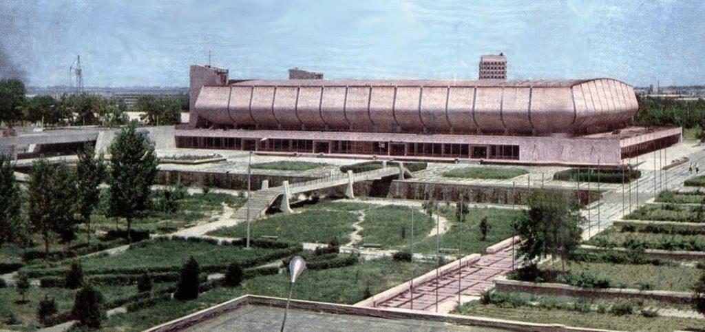 Palais « Ioubileïny » Architecture Patrimoine URSS Tachkent Ouzbékistan