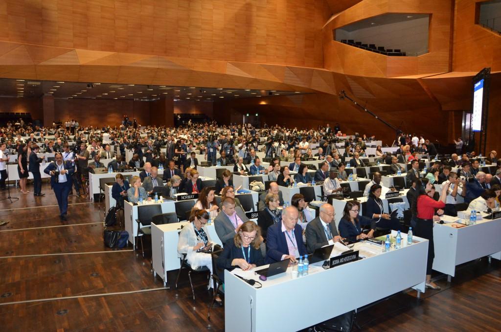 Session Comité Patrimoine Mondial UNESCO Bakou Capitale Azerbaïdjan