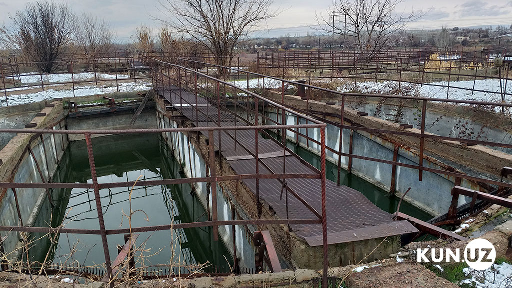 Eau Potable Tachkent Ouzbékistan Assainissement Infrastructures