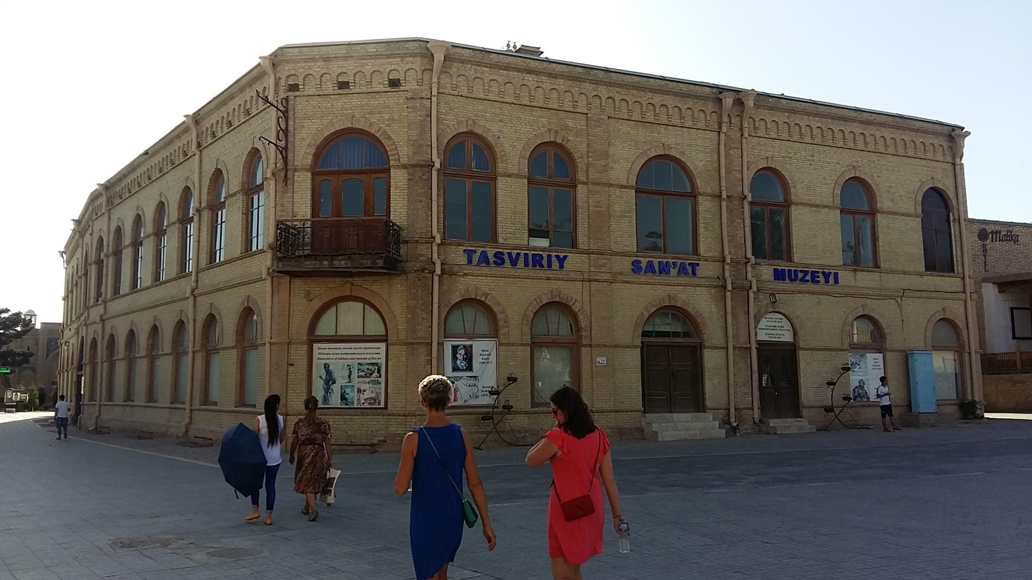 Boukhara Ouzbékistan Art Avant-garde Peinture Musée des beaux arts