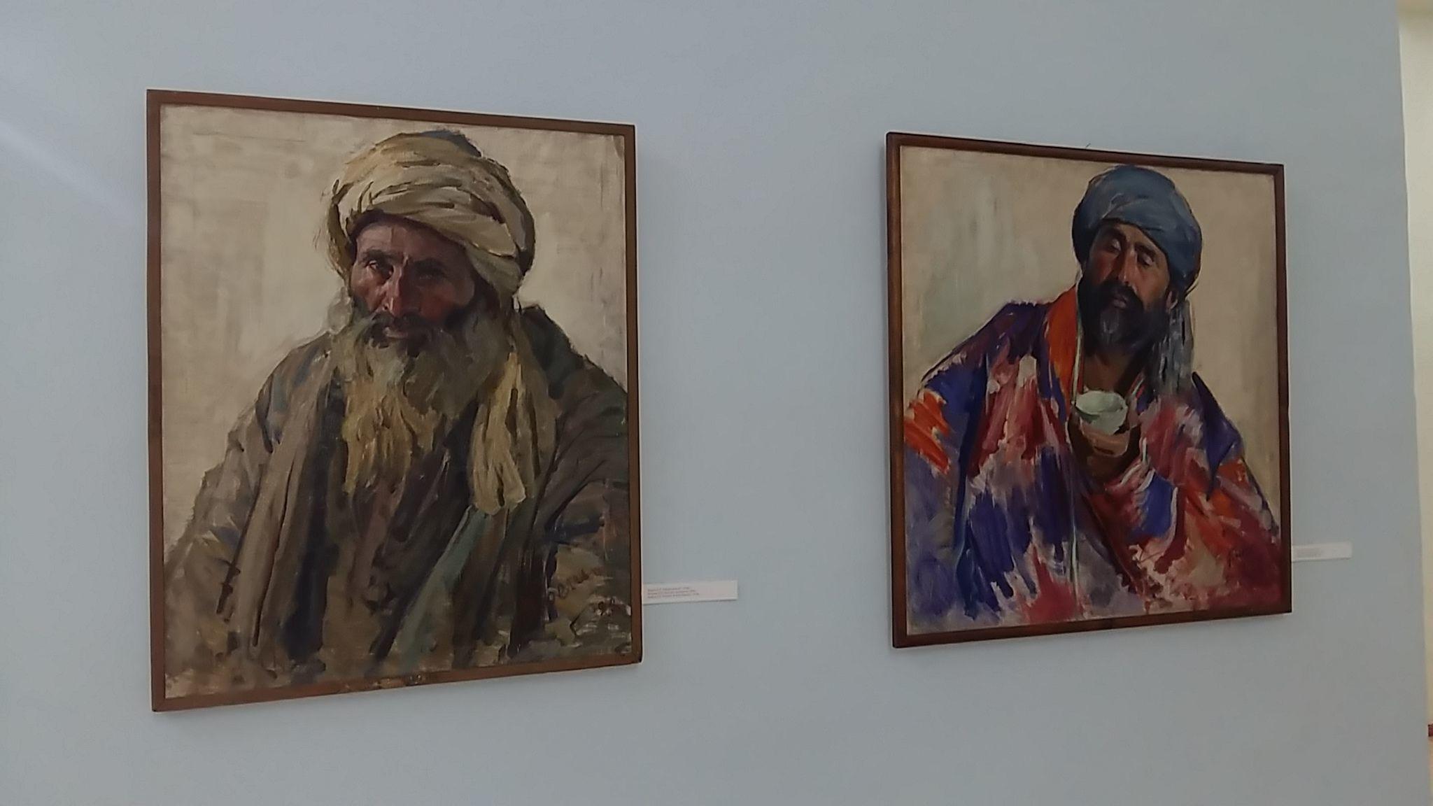 Boukhara Ouzbékistan Art Pavel Benkov Avant-garde Peinture Musée des beaux arts