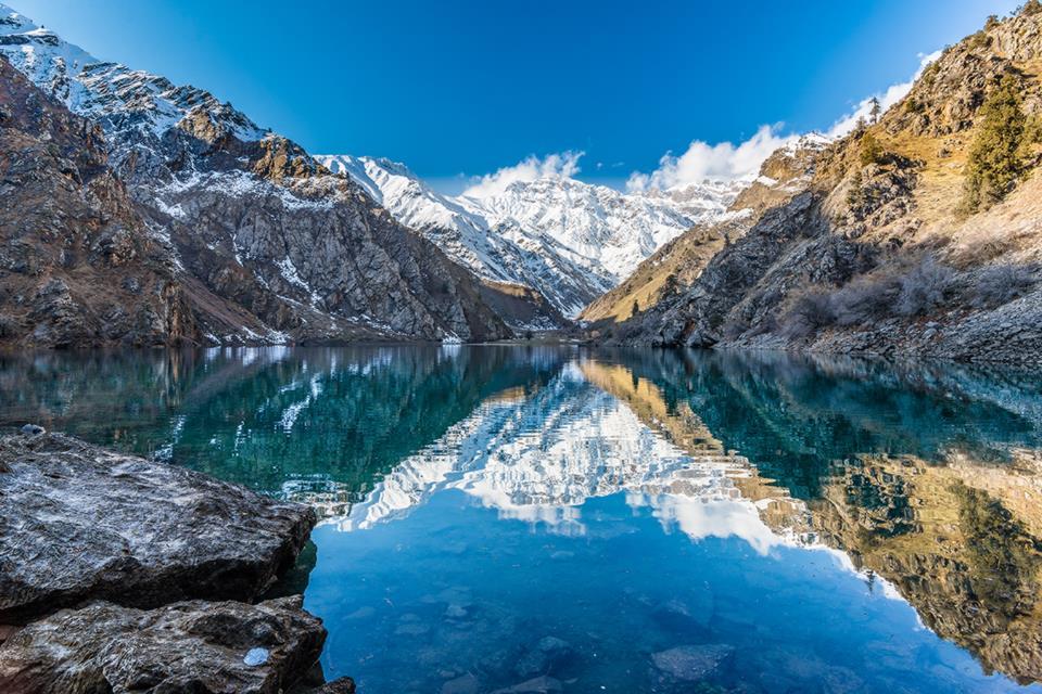 Ouzbékistan lac Ouroungach Tourisme Environnement Parc naturel