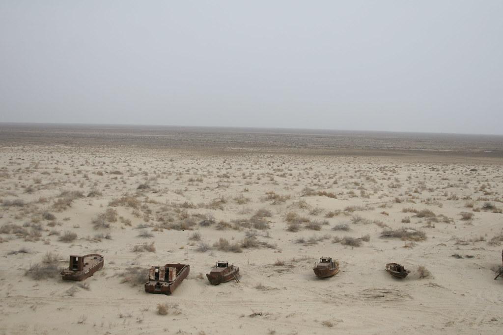Mer d'Aral Ouzbékistan Environnement