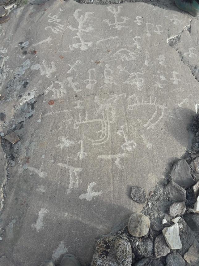 Pétroglyphes Tadjikistan Langar Archéologie Histoire