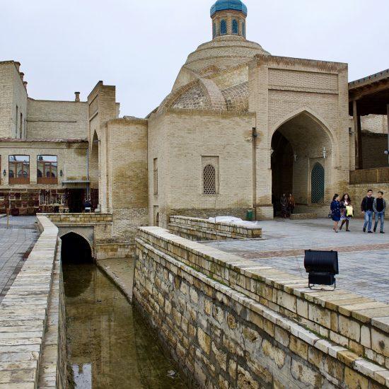 Labi Hovouz Boukhara Ouzbékistan Architecture