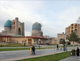 Mosquée Bibi Khanoum Samarcande