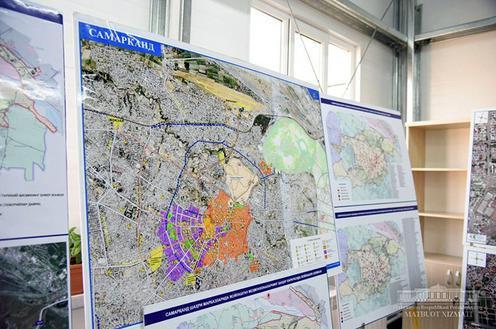 Photo Samarcande Ouzbekistan plan