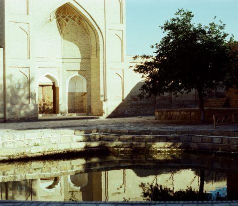 Boukhara Ouzbékistan Réservoirs d'eai
