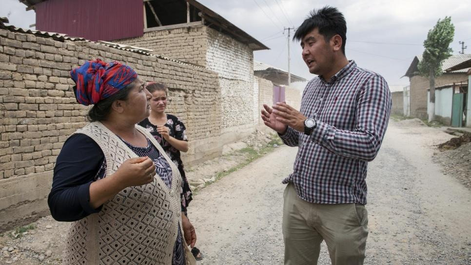 Azizbek Achourov Avocat Prix Nansen Kirghizstan UNHCR