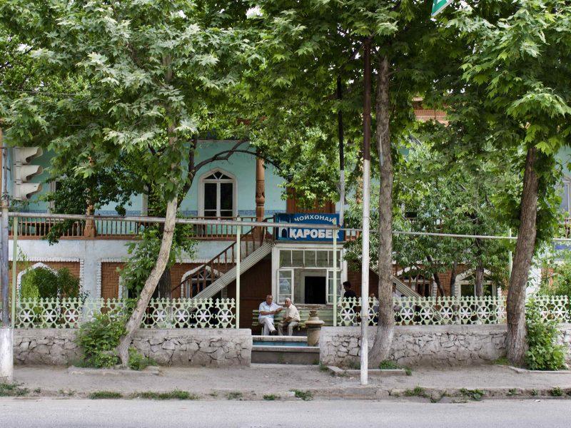 Tchai Thé Istaravchan Tadjikistan Photo du Jour