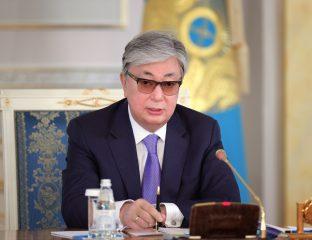 Président Kazakhstan Tokaïev Almaty Capitale Pays
