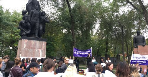 Septembre Almaty Rassemblement Histoire Kazakhstan