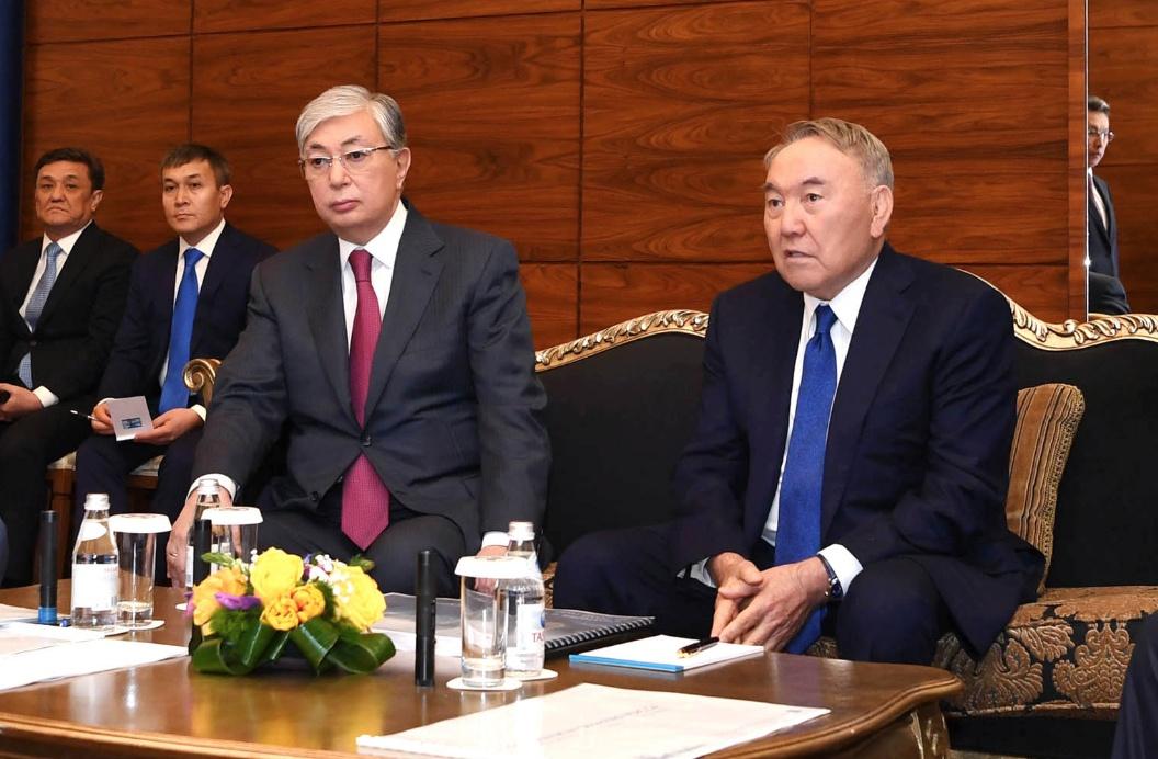 Nazarbaïev Tokaïev Président Conseil Sécurité Kazakhstan