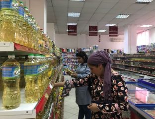 Made in Russia Supermarché Tadjikistan Femmes