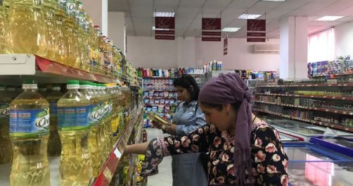 Made in Russia Supermarché Tadjikistan Femmes