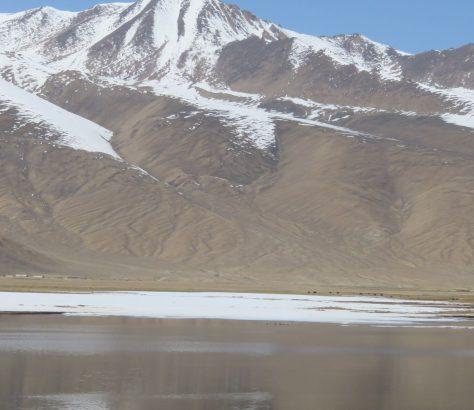 Pêcheurs Tadjikistan Pamir Lac Montagne